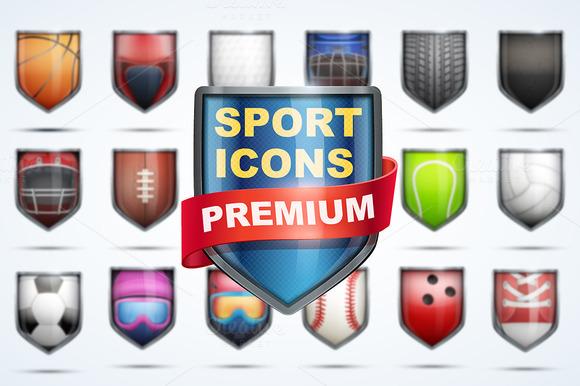 MEGA-Set Premium Icons Of Sports