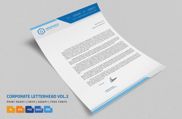 Corporate Letterhead Vol.2