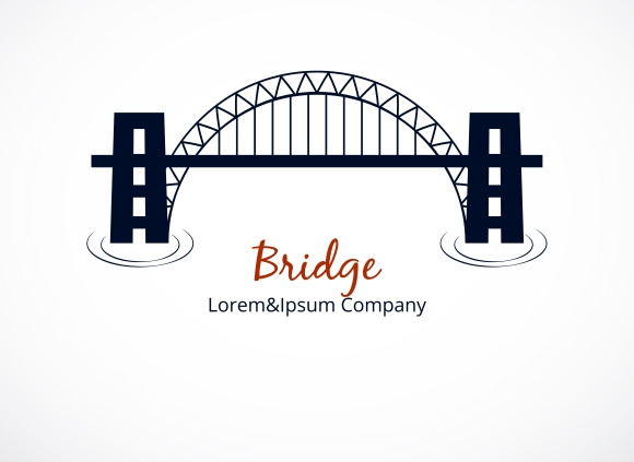 Bridge Logo Graphic Design