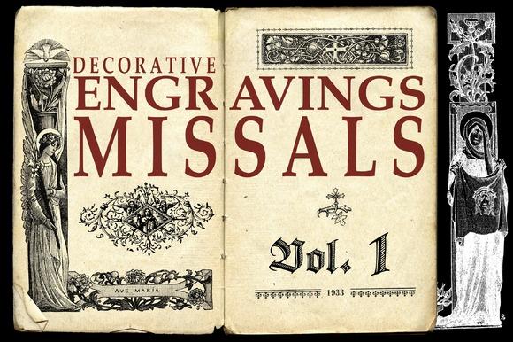 ENGRAVINGS MISSALS VOL 1 BONUS