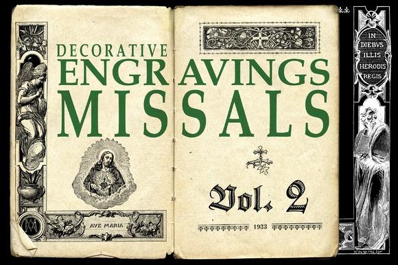 ENGRAVINGS MISSALS VOL 2 BONUS