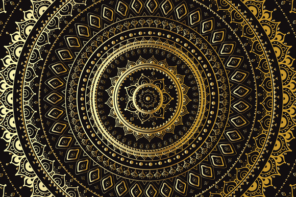 Gold Mandala Set
