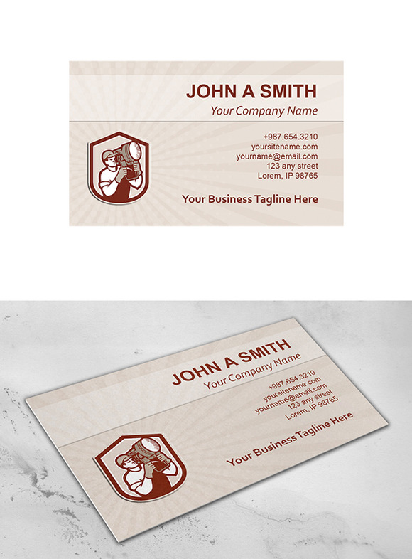 Business Card Template Electrical Li