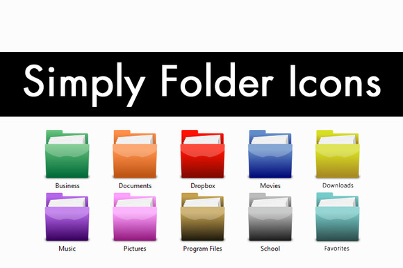 Simply Folder Icons