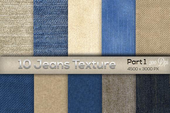 10 Jeans Texture