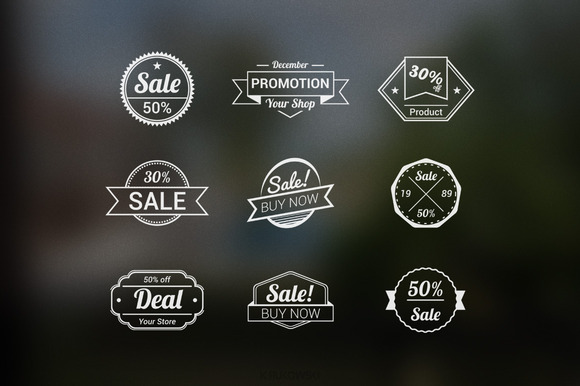 Sale Vector Bagdes
