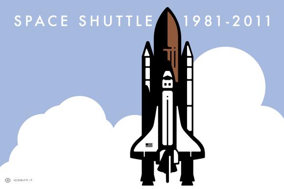 Space Shuttle Illustration