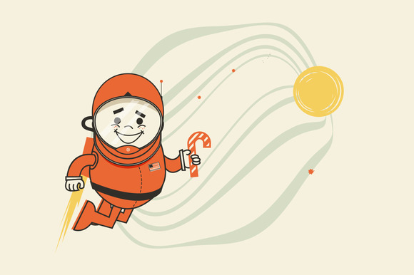Christmas Astronaut