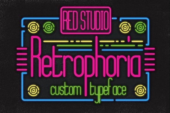 Retrophoria Typeface Bonuses