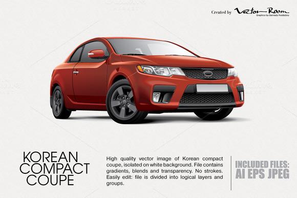 Korean Compact Coupe