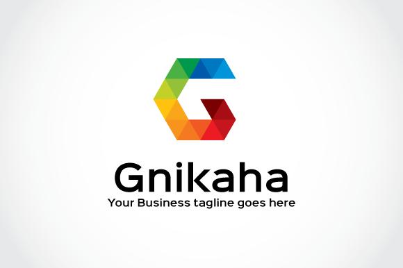 Gnikaha Logo Template