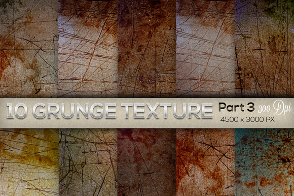 10 Grunge Texture Part 3