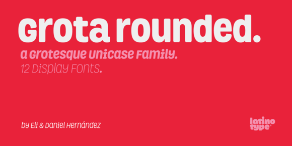 Grota Rounded Family 50% Off