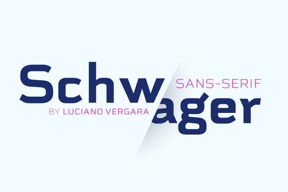 Schwager Sans Family 50% Off