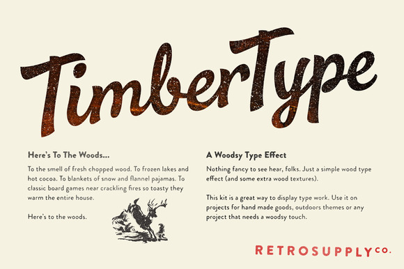 TimberType A Holiday Gift To You