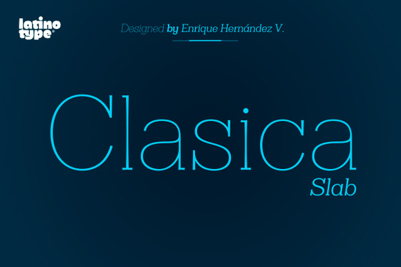 Clasica Slab Family 50% Off