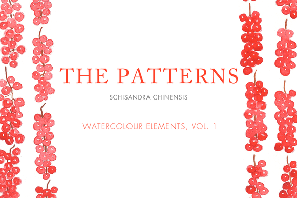 Watercolour Patterns Vol 1