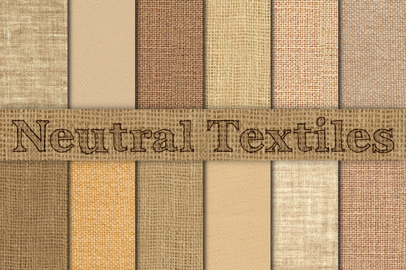 Neutral Burlap Linen Canvas