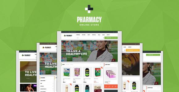 Pav Pharmacy Opencart Theme