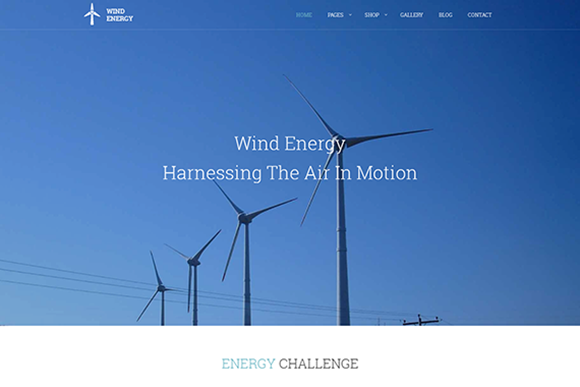 Wind Energy-Green Technologies Theme