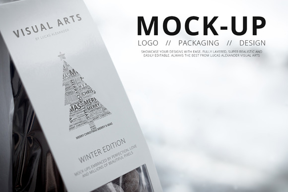 UNIVERSAL MOCK-UP WINTER EDITION