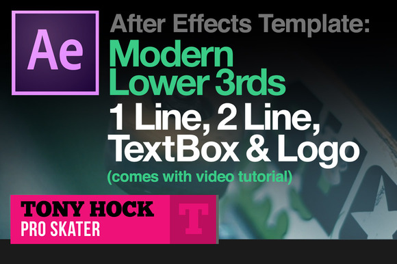 Lower 3rds After Effects