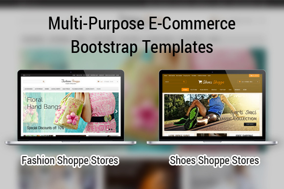 Fashion Shoes E-Commerce Bootstrap