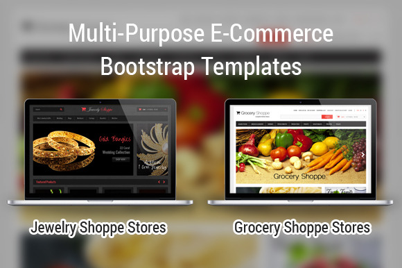 Grocery-Jewelry E-Commerce Bootstrap