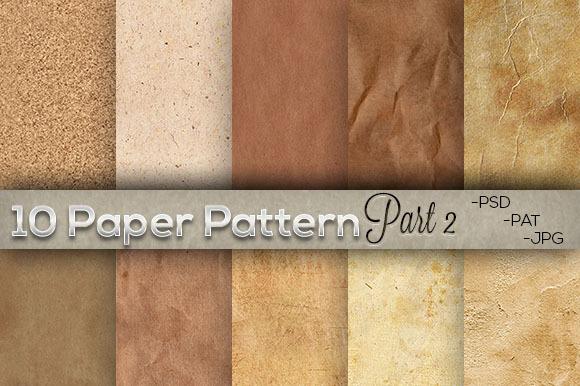 10 Paper Texture Pattern Part 2