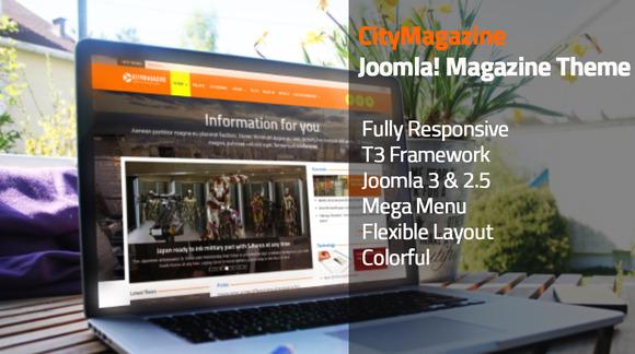 CityMagazine Joomla Magazine Theme