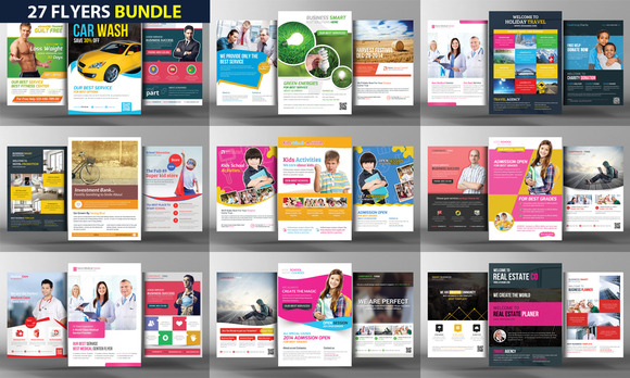 27 Corporate Business Flyers Bundle