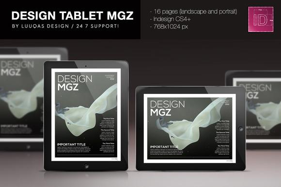 Tablet Design Magazine