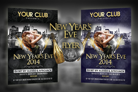 New Year S Eve Manhattan Flyer