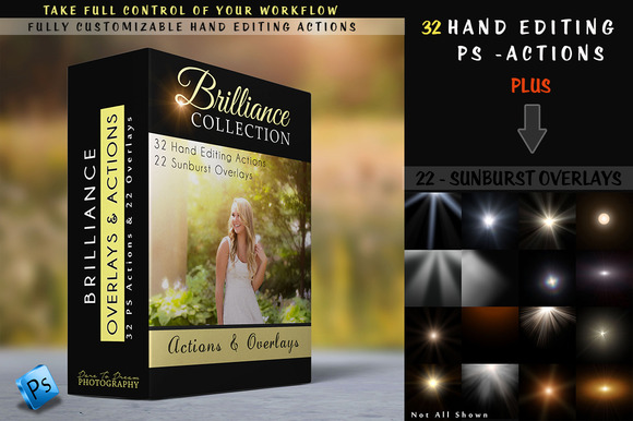 Brilliance Actions Overlays