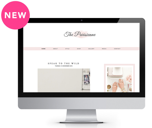 Parisienne Blogger Template