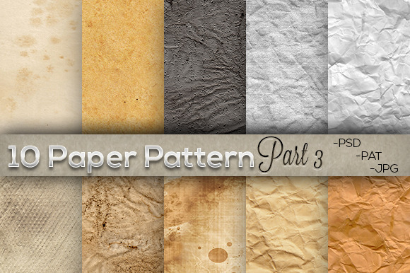 10 Paper Pattern Part 3