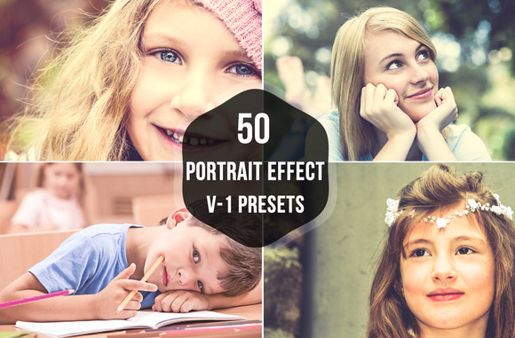 50 Portrait Lightroom Presets