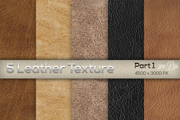 5 Leather Texture