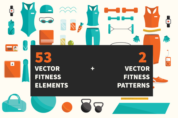 53 Fitness Elements 2 Patterns