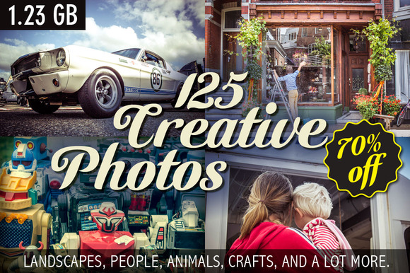70% Off Creative Photo Collection