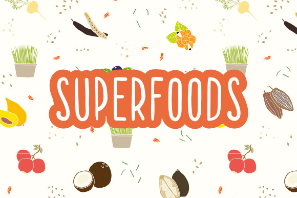 Hand Drawn Superfoods