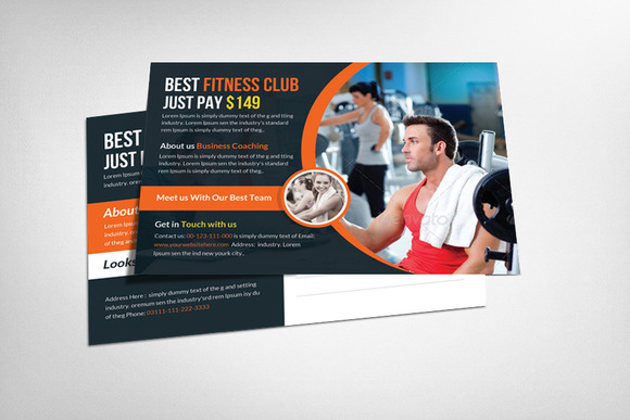 Multipurpose Postcard Template