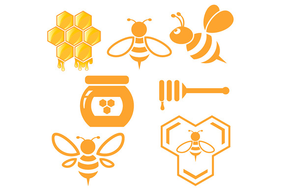 Bee And Honey Set