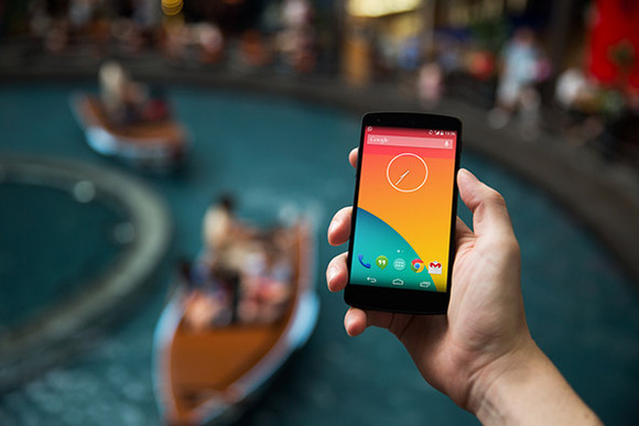 Nexus5 Template River Boat