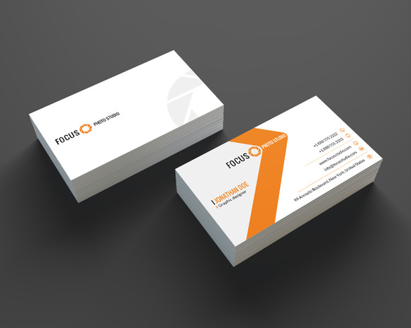 Photographer Business Card SE0202