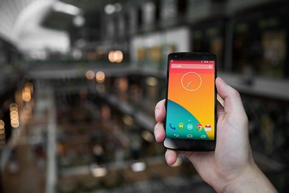 Nexus5 Template Mall Lights