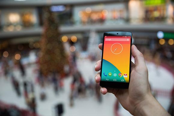 Nexus5 Template Snowy Xmas