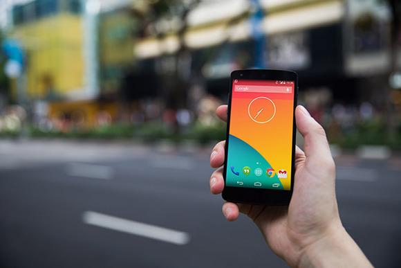 Nexus5 Template Street Side