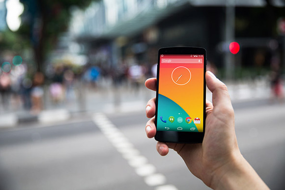 Nexus5 Template Street Crossing