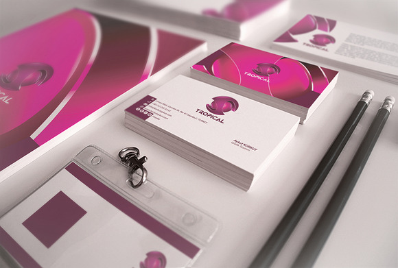 Tropical Corporate Identity Package